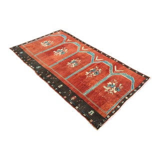 Red Turkish Area Rug For Sale
