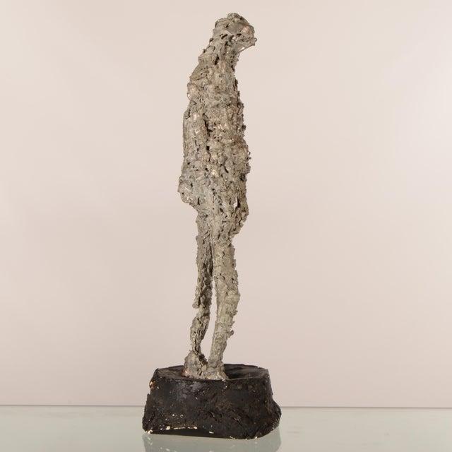 """""""Silver Lady"""" Figurative Sculpture Statue For Sale In Dallas - Image 6 of 12"""