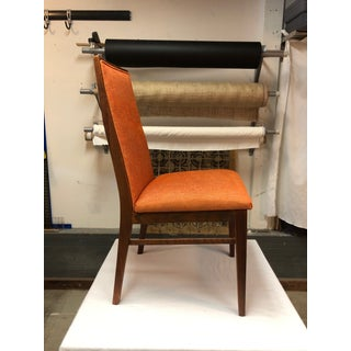 1970s Vintage Milo Baughman for Dillingham Walnut Side Chair Preview