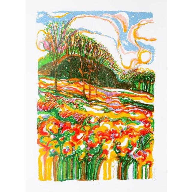 "R. Julius Christensen, ""Spring Fever,"" Lithograph - Image 1 of 2"