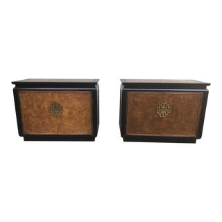 1970s Vintage Century Furniture Chin Hua Chests- A Pair For Sale