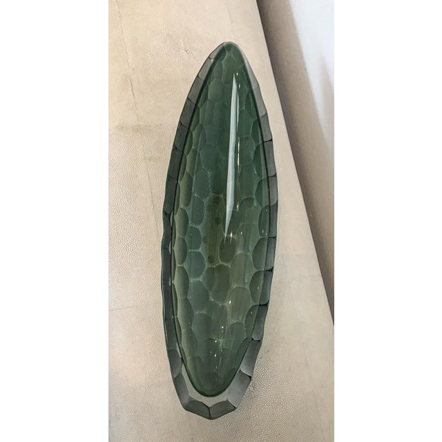 Dazzle up your house with this beautiful signature Battuto style Alberto Dona Green Bowl. All pieces are made in Italy and...
