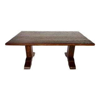 Rustic Pine Farm Table For Sale