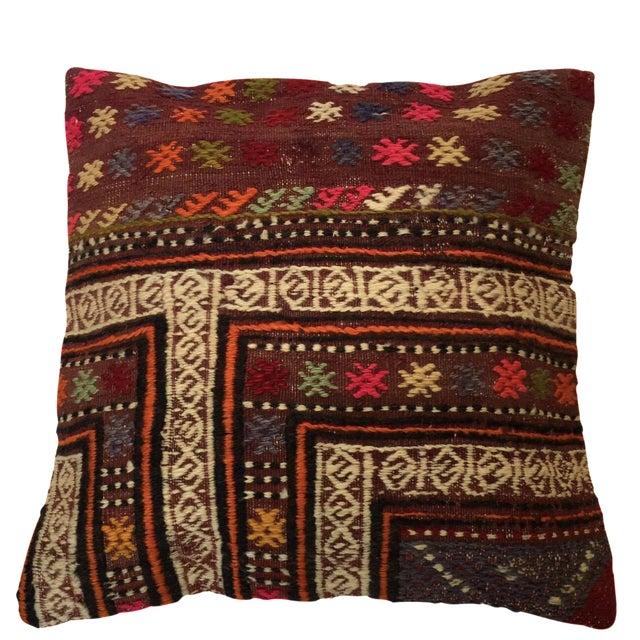 Handmade Kilim Pillow Cover - Image 1 of 6