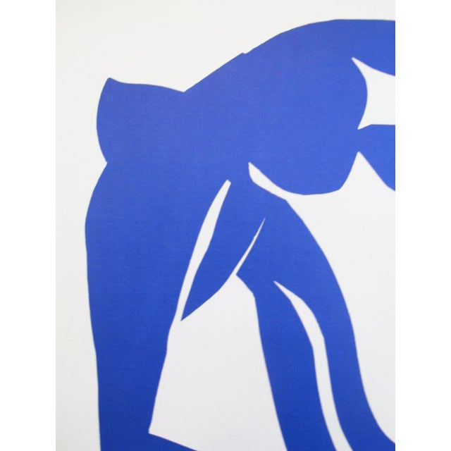 Contemporary 1970 Henri Matisse Vintage Poster, Grand Palais Cut Out For Sale - Image 3 of 4