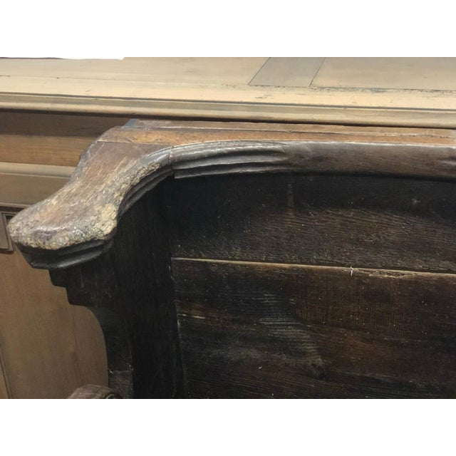 This pew came from a French cathedral and was built into the altar for noble clergymen. Ones similar can be found in Notre...