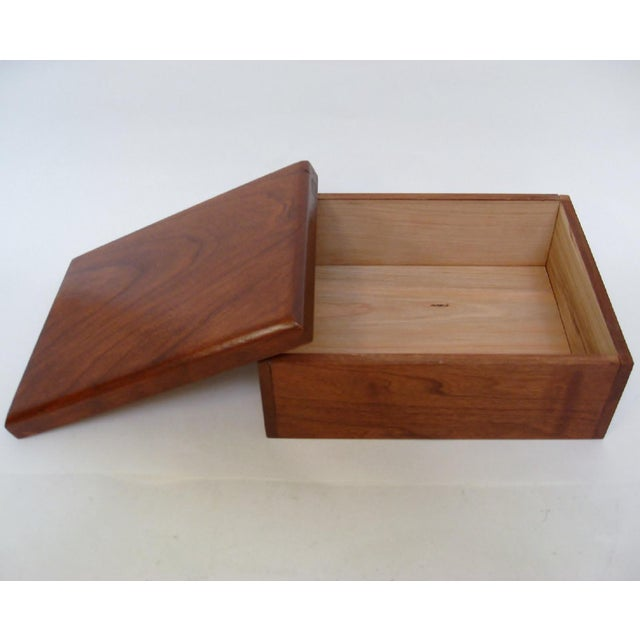 Cedar Storage Box For Sale - Image 4 of 6