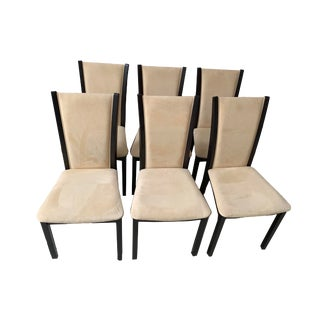 Designer Dining Chairs From Skovby of Denmark- Set of 6 For Sale