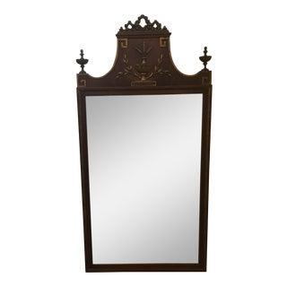 1920-30's Mahogany Classical Style Mirror