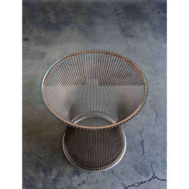 Knoll 1965 Warren Platner for Knoll Copper Occasional Table For Sale - Image 4 of 9