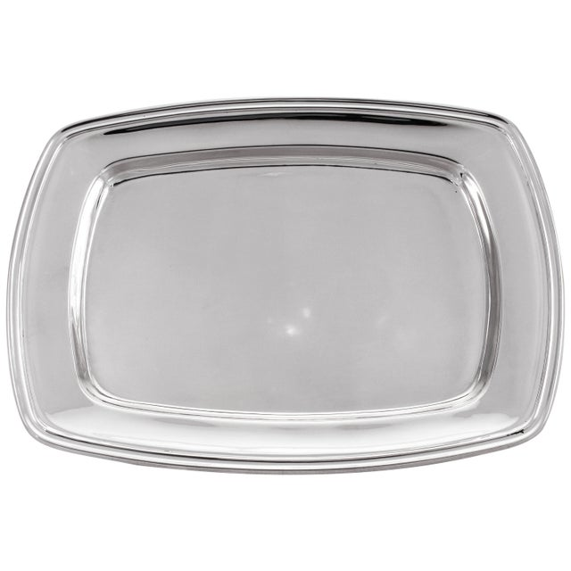 Silver Sterling Mary Chilton Tray For Sale - Image 8 of 8