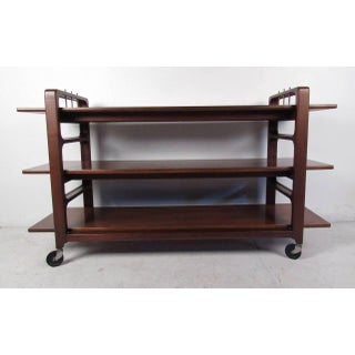 Midcentury Serving Cart by Baker Furniture Company Preview