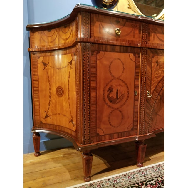 David Michael English Style Sideboard From Winston Churchill Suite of Waldorf Astoria For Sale - Image 4 of 13