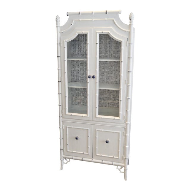 Thomasville Bamboo Style Armoire - Image 1 of 5