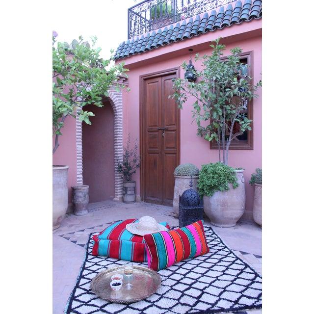 "Gina Moroccan Beni Ourain Rug - 3'7"" x 4'9"" - Image 4 of 5"