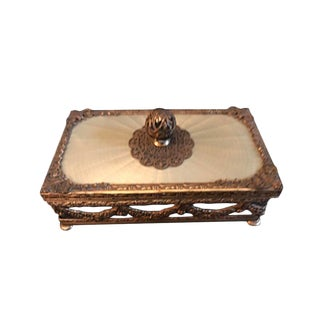 Parisian Lidded Soap Dish For Sale