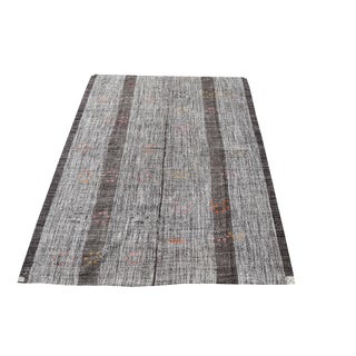 Early 20th Century Vintage One of a Kind Turkish Kilim Rug - 7′2″ × 10′6″ For Sale