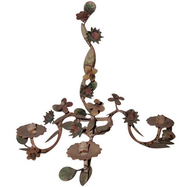 Italian Metal Sconce - Image 1 of 6