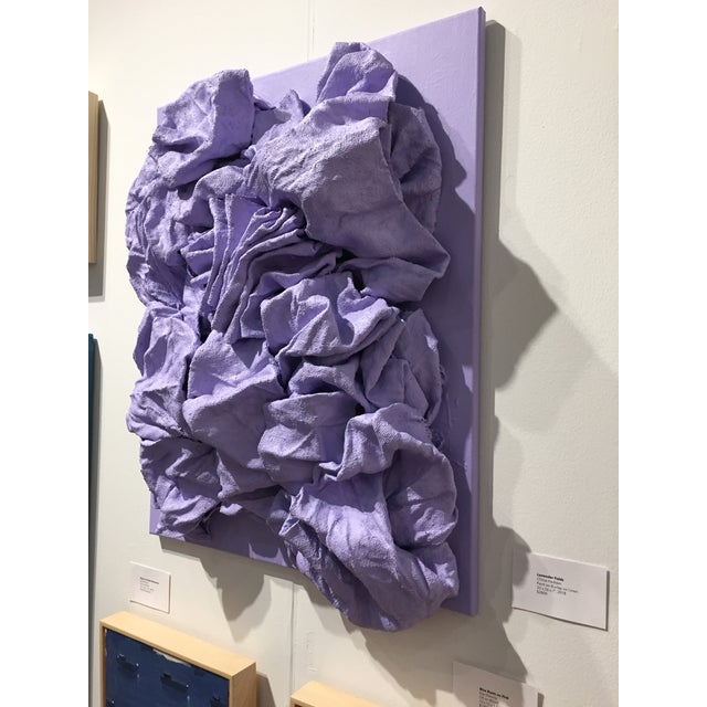 Abstract Lavender Folds For Sale - Image 3 of 9