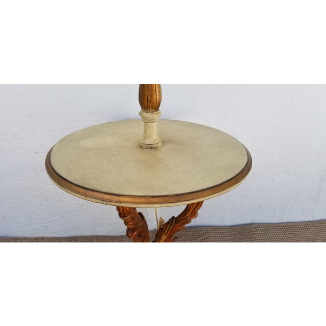 1950s Italian Neoclassical Venetian Style Table Floor Lamp For Sale - Image 4 of 12