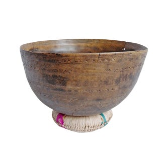 Old Tuareg Wood Bowl For Sale