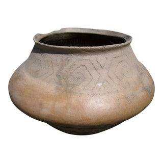 Early 20th Century Rustic Mexican Clay Pot