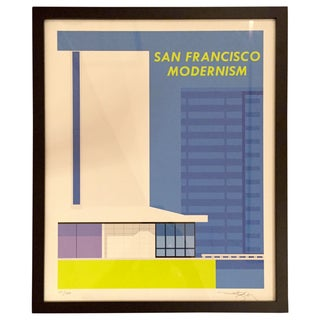 San Francisco Modernism- Print Only For Sale