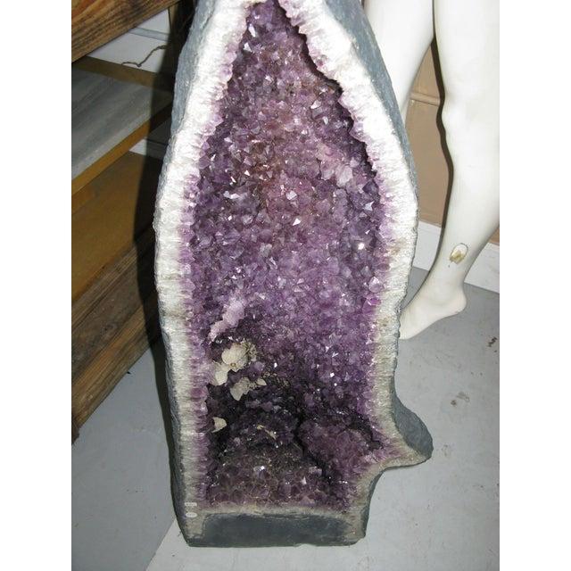 Amethyst Geode Large Crystal Cathedral Specimen - Image 4 of 9