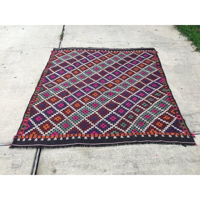 Home Office Decor Rug Vintage kilim rug turkish anatolian handwoven rug tribal hand knotted rug study room rug vintage...