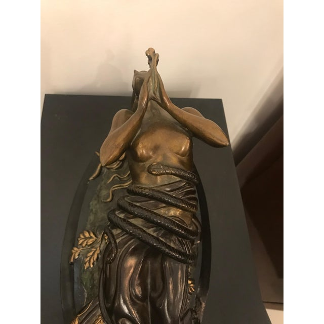 "1984 Erte Ltd Ed ""Perfume"" Bronze Sculpture by Romain De Tirtoff For Sale - Image 9 of 13"