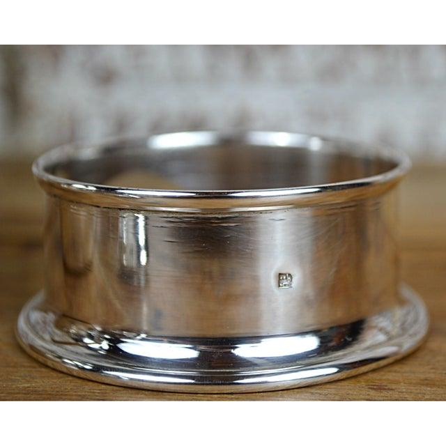 Egyptian Sterling Silver Warming Pot - Image 7 of 10