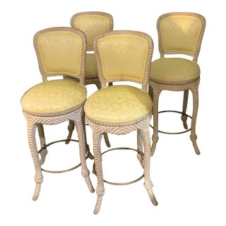 Twist Frame Barstools-Set of 4 For Sale