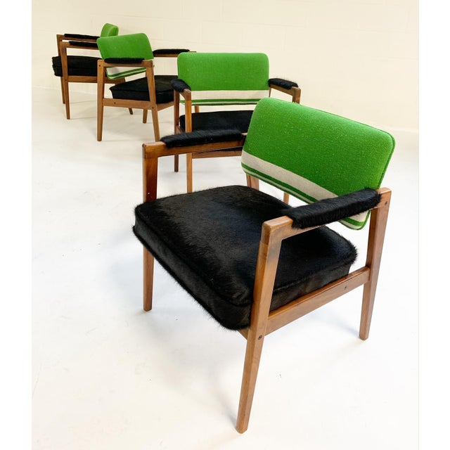 Luxury Midcentury Swedish Chairs In Brazilian Cowhide And Isabel