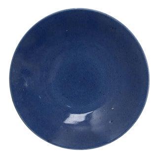 Powder Blue Plate, China Circa 1850 For Sale