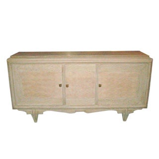 Parquetry Cerused Oak Sideboard For Sale