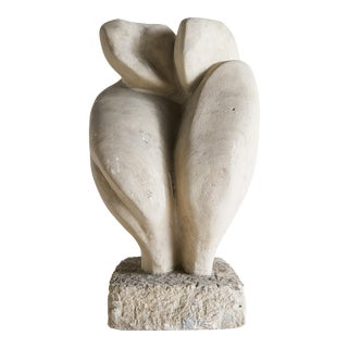 Abstract Figural Stone Sculpture For Sale