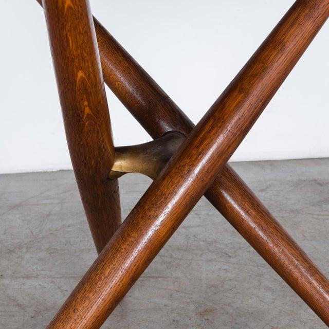 Jurg Bally Mid-Century Modern Jurg Bally Adjustable Wooden Table For Sale - Image 4 of 9