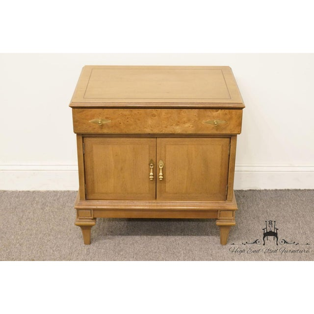 Art Deco Late 20th Century Vintage American of Martinsville Nightstand For Sale - Image 3 of 12