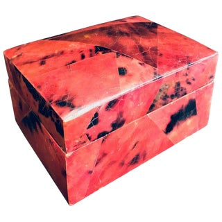 Organic Modern Box in Mosaic Pen-Shell by R & Y Augousti For Sale