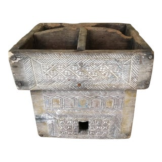 Thai Betelnut Wood Box For Sale