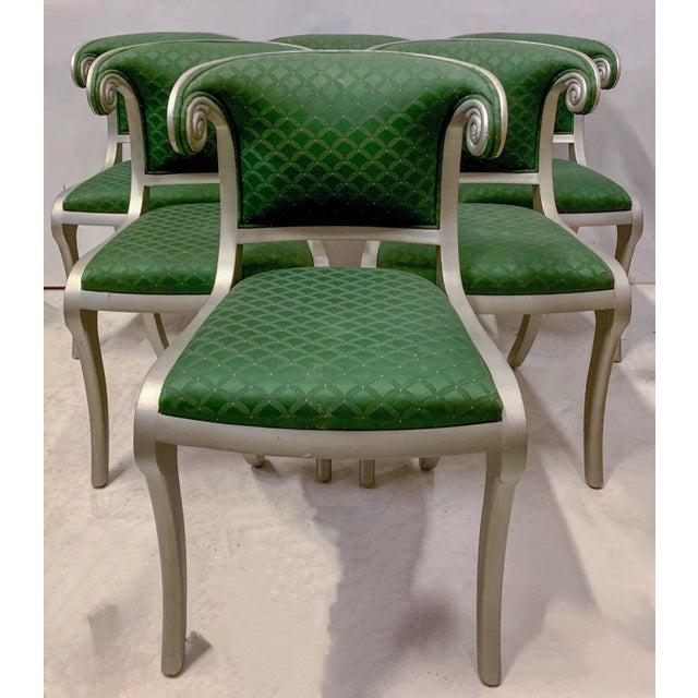 Set of 8 Casa Stradivari Neo-Classical Klismos Dining Chairs For Sale In Atlanta - Image 6 of 12