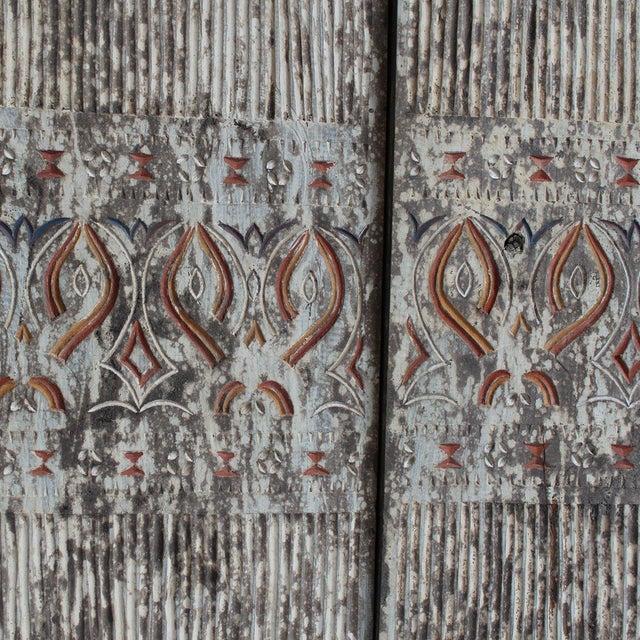 Asmat Wood Panels - Set of 3 - Image 2 of 2