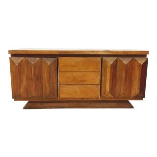 Mid-Century Modern Brutalist Kagan Style Dresser