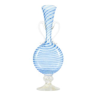 Murano Glass Decorative Bud Vase For Sale
