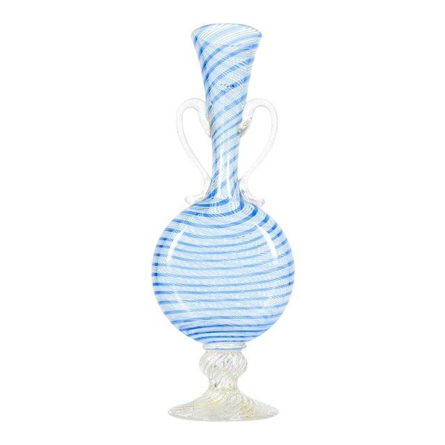Murano Glass Decorative Bud Vase For Sale