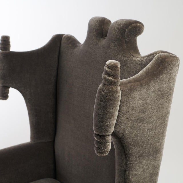Arturo Pani Wingback Chairs For Sale - Image 9 of 13