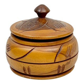 Vintage Hand Made Haitian Box For Sale