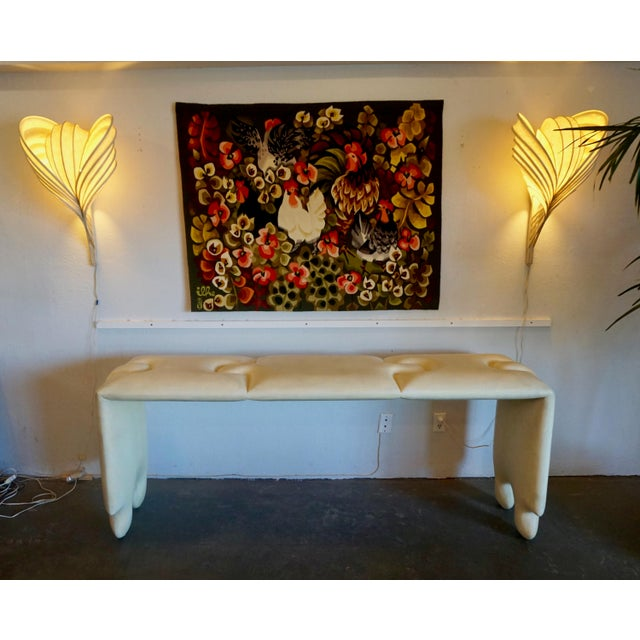Paint Postmodern Scala Puzzle Console Table For Sale - Image 7 of 8