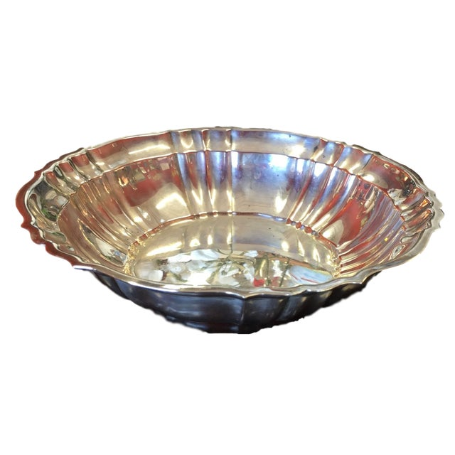 Silver Gorham Chippendale Sterling Silver Bowl For Sale - Image 8 of 8