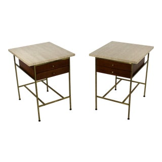 Mid-Century Modern Paul McCobb for Calvin Pair of Nightstands Side End Tables